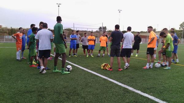 Primer entrenamiento